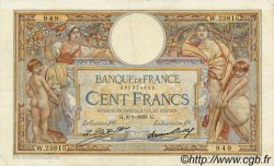 100 Francs LUC OLIVIER MERSON grands cartouches FRANCE  1929 F.24.08 TTB