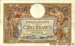 100 Francs LUC OLIVIER MERSON grands cartouches FRANCE  1931 F.24.10 TB à TTB