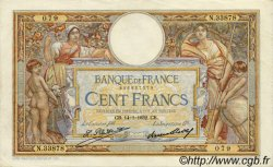 100 Francs LUC OLIVIER MERSON grands cartouches FRANCE  1932 F.24.11 TTB+