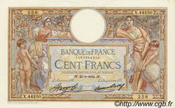 100 Francs LUC OLIVIER MERSON grands cartouches FRANCE  1934 F.24.13 pr.SPL