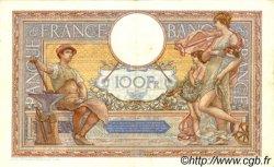 100 Francs LUC OLIVIER MERSON grands cartouches FRANCE  1934 F.24.13 TTB