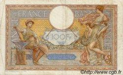100 Francs LUC OLIVIER MERSON grands cartouches FRANCE  1934 F.24.13 pr.TTB