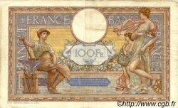 100 Francs LUC OLIVIER MERSON grands cartouches FRANCE  1934 F.24.13 TB à TTB