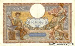 100 Francs LUC OLIVIER MERSON grands cartouches FRANCE  1935 F.24.14 pr.TTB