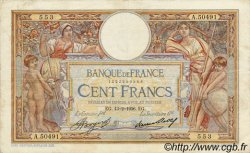 100 Francs LUC OLIVIER MERSON grands cartouches FRANCE  1936 F.24.15 TB+