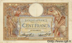 100 Francs LUC OLIVIER MERSON grands cartouches FRANCE  1936 F.24.15