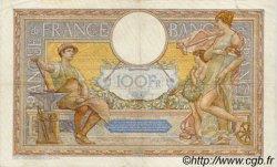 100 Francs LUC OLIVIER MERSON type modifié FRANCE  1937 F.25.01 TTB