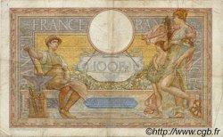 100 Francs LUC OLIVIER MERSON type modifié FRANCE  1937 F.25.02 TB à TTB