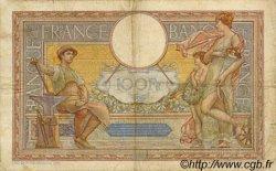 100 Francs LUC OLIVIER MERSON type modifié FRANCE  1937 F.25.04 TB