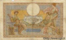 100 Francs LUC OLIVIER MERSON type modifié FRANCE  1937 F.25.04 B