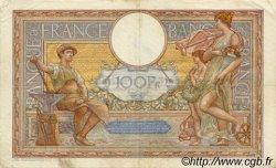 100 Francs LUC OLIVIER MERSON type modifié FRANCE  1937 F.25.05 TTB