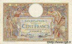 100 Francs LUC OLIVIER MERSON type modifié FRANCE  1937 F.25.07 TTB+