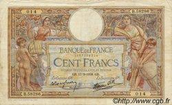 100 Francs LUC OLIVIER MERSON type modifié FRANCE  1938 F.25.13 TB