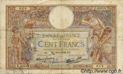 100 Francs LUC OLIVIER MERSON type modifié FRANCE  1938 F.25.16 B