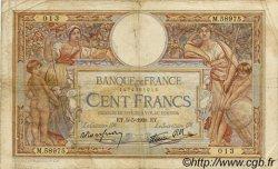 100 Francs LUC OLIVIER MERSON type modifié FRANCE  1938 F.25.17 B+