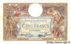 100 Francs LUC OLIVIER MERSON type modifié FRANCE  1938 F.25.30 TTB