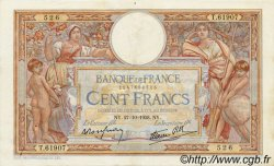 100 Francs LUC OLIVIER MERSON type modifié FRANCE  1938 F.25.33 SUP+