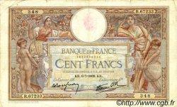 100 Francs LUC OLIVIER MERSON type modifié FRANCE  1939 F.25.48 pr.TB