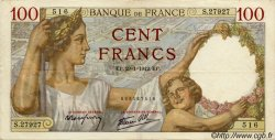 100 Francs SULLY FRANCE  1939 F.26 TTB