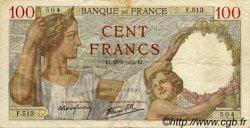 100 Francs SULLY FRANCE  1939 F.26.05 pr.TTB