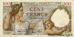 100 Francs SULLY FRANCE  1939 F.26.09 TTB+