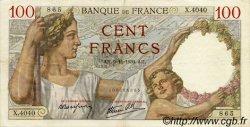 100 Francs SULLY FRANCE  1939 F.26.14 TTB à SUP