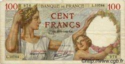 100 Francs SULLY FRANCE  1940 F.26.29 TB