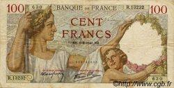 100 Francs SULLY FRANCE  1940 F.26.34 TB