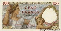 100 Francs SULLY FRANCE  1941 F.26.46 SPL