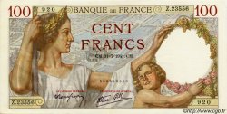 100 Francs SULLY FRANCE  1941 F.26.56 pr.NEUF