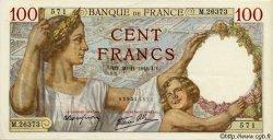 100 Francs SULLY FRANCE  1941 F.26.61 SUP à SPL
