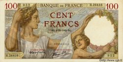 100 Francs SULLY FRANCE  1941 F.26.62 SUP+