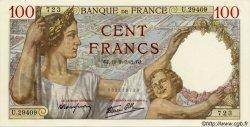 100 Francs SULLY FRANCE  1942 F.26.68 pr.NEUF