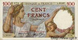 100 Francs SULLY FRANCE  1942 F.26.69 pr.SPL