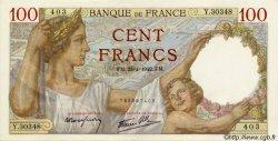 100 Francs SULLY FRANCE  1942 F.26.70 pr.SPL