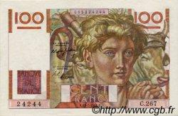 100 Francs JEUNE PAYSAN FRANCE  1945 F.28 SUP