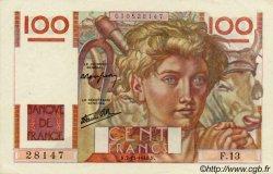 100 Francs JEUNE PAYSAN FRANCE  1945 F.28.01 SUP+