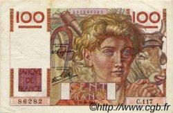 100 Francs JEUNE PAYSAN FRANCE  1946 F.28.10 TTB+