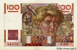 100 Francs JEUNE PAYSAN FRANCE  1947 F.28.16 SUP