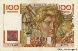 100 Francs JEUNE PAYSAN FRANCE  1948 F.28.20 pr.SUP