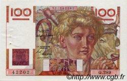 100 Francs JEUNE PAYSAN FRANCE  1949 F.28.21 pr.SPL