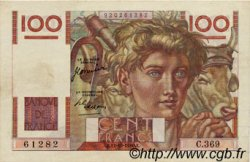 100 Francs JEUNE PAYSAN FRANCE  1950 F.28.27 TTB+