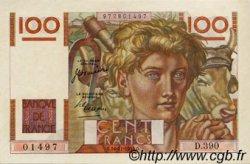 100 Francs JEUNE PAYSAN FRANCE  1950 F.28.28 SUP+
