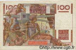 100 Francs JEUNE PAYSAN FRANCE  1951 F.28.29 SUP