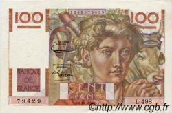 100 Francs JEUNE PAYSAN FRANCE  1952 F.28.34 pr.NEUF