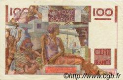 100 Francs JEUNE PAYSAN FRANCE  1954 F.28.41 TTB+