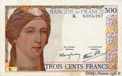 300 Francs FRANCE  1938 F.29.01 SUP+ à SPL
