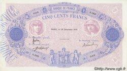 500 Francs BLEU ET ROSE FRANCE  1919 F.30.00 pr.NEUF
