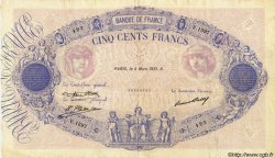 500 Francs BLEU ET ROSE FRANCE  1931 F.30.34 TTB+
