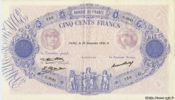 500 Francs BLEU ET ROSE FRANCE  1932 F.30.35 TTB+ à SUP